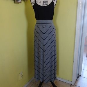 AVA VIV WOMEN SKIRT SIZE X L COLOR GRAY